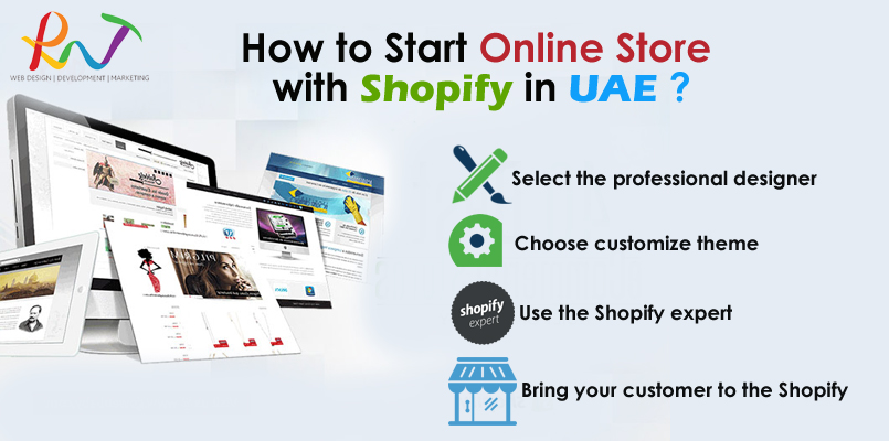 Start online store with shopify