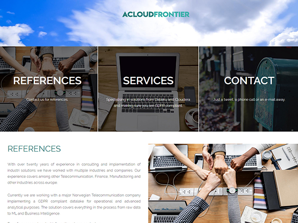 ACLOUDFRONTIER